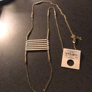 Lucky Brand Jewelry - NEW Lucky Brand gold/silver long pendant necklace